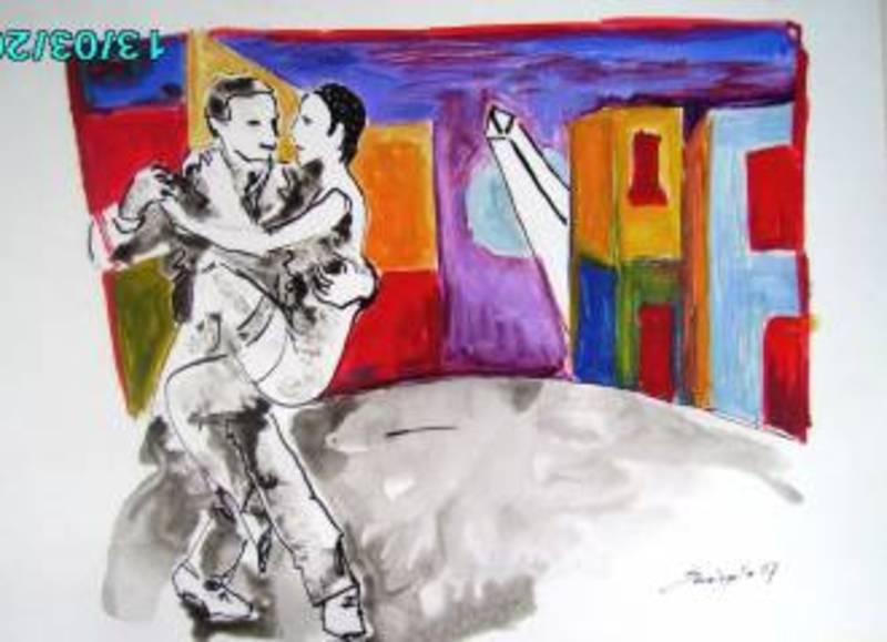 Tango Therapy DANCE NIGHT by Raquel Sara Sarangello
