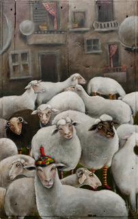 The flock of God by Mariela Dimitrova MARA