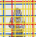 Break Free! (after P. Mondrian) by Jirapat Tatsanasomboon