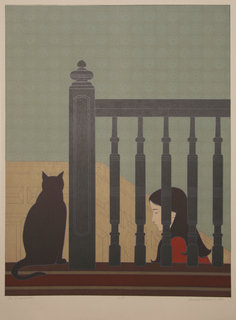 The Bannister by Will Barnet