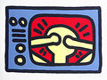 tv by Keith Haring