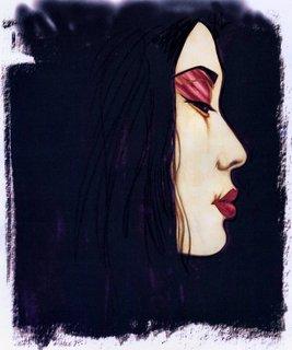 Izumi in Purple by lee allane