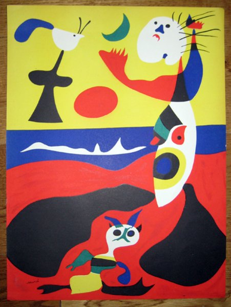 World Trade Famous Painting By Joan Miro