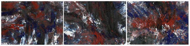 Triptych OF-26 by Oleg Frolov