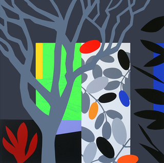Dark Garden by Bruce McLean