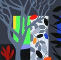Dark Garden by Bruce McLean