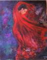 Falmenco dancer 20 by Sylva Zalmanson