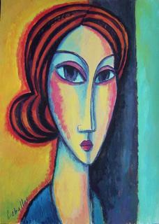 Long face by Guillermo Martí Ceballos