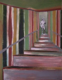 Stairs to David by Scott Andrew Spencer