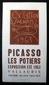Picasso - Les Pottiers, 1963 by Pablo Picasso