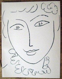 Portraits by Henri Matisse