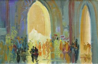 Inside the Pagoda I by U Lun Gywe