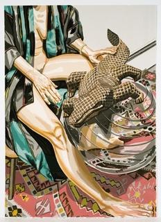 Alligator by Philip Pearlstein