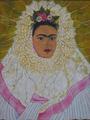 Frida en traje tipico by MAGDALENA ALVARADO