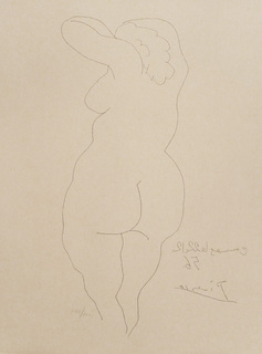 Nude by Pablo Picasso