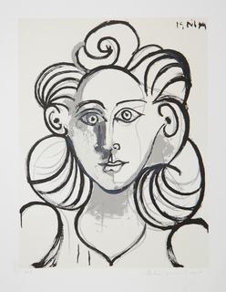 Portrait de Femme by Picasso Estate Collection