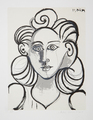 Portrait de Femme by Picasso Estate Collection