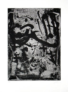 Composición by Antoni Tàpies