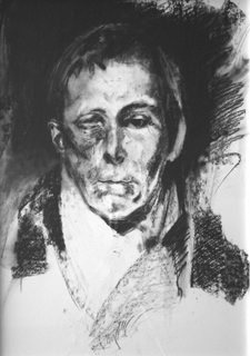 Charcoal Study 2 by Philip Gurrey