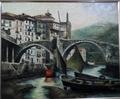 Ondarroa bridge by Félix Beristain
