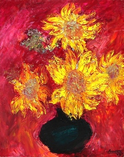 Sunflowers by Tran Tuan