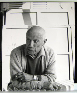 Portrait of Pablo Picasso by Pablo Picasso