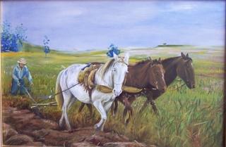 plowing version 2 by Rosario de Mattos