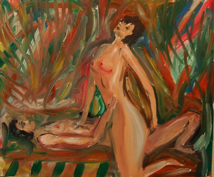 Jose luis best nude scene, nude girls in cosplay body paint