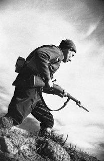 Alpine soldier by Agustín Centelles