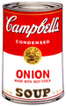 Campbell's Soup - Onion by Andy Warhol
