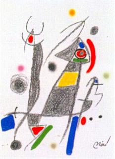 Maravillas con Variaciones Acrosticas en el jardin de Miro (Number 8) by Joan Miró