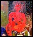Orange Nude by Eric Henty
