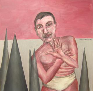 Man in underwear by Ricardo Hirschfeldt