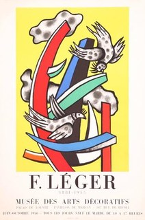 Musee des Arts Decoratifs by Fernand Leger