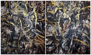 Diptych OF-A227 by Oleg Frolov