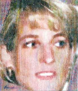 Princess Diana,Light rain by Marco Mark