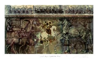 Saint George / Equestrian Series by Alexander Sutulov