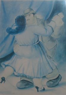 The Dancers II by Fernando Botero