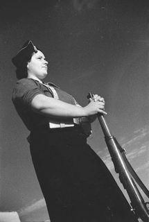 Militian dark sky 1937 by Agustín Centelles