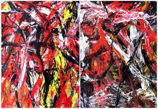 Diptych OF-A288 by Oleg Frolov