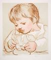Enfant Déjeunant by Picasso Estate Collection