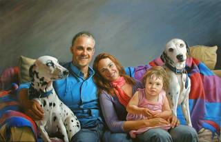 La familia by Nacho Quiroga