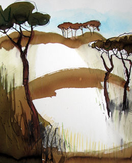 Pinos 6 by Alex Mackenzie