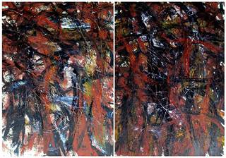 Diptych. OF-A287 by Oleg Frolov