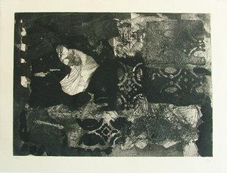 Pochoir by Antoni Clavé