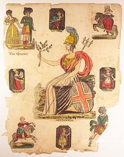 Found Art: Britannia by Peter Blake