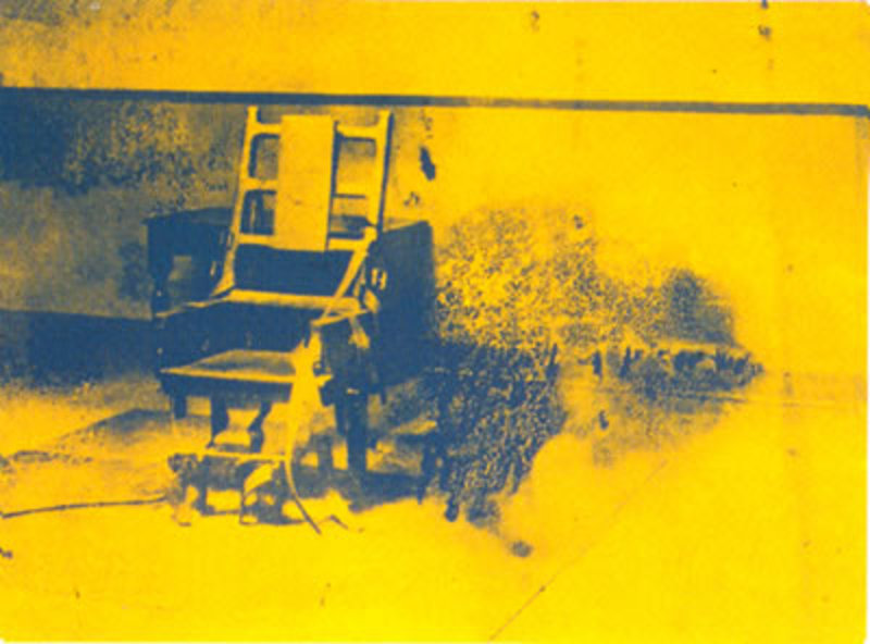 Electric Chair - II.74 Original Art by Andy Warhol :: PicassoMio