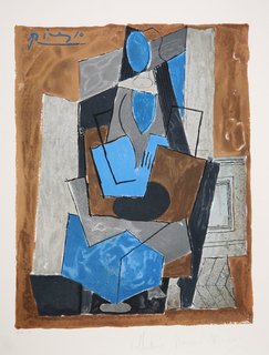 Femme Assise by Picasso Estate Collection