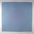 Winter Suite (Light Blue with Light Blue) by Richard Anuszkiewicz