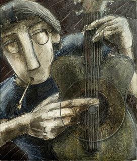 "Guitarman by Thierry  ""Deth"" Delsart"